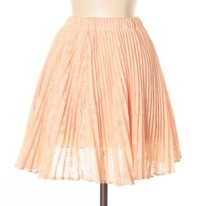 Urban Outfitters Pins and Needles lace skirt sz Lg